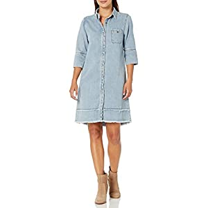 Women's Rosalie Denim Dress Light Wash
