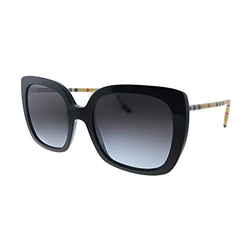 Gafas de Sol Burberry BE 4323 BLACK/GREY SHADED 54/20/140 mujer