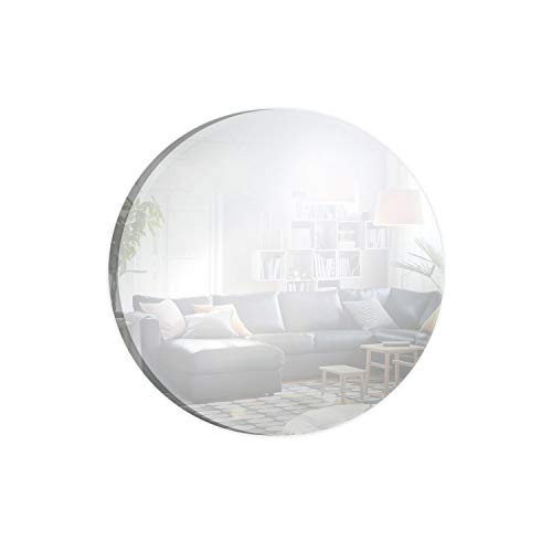 Round Mirror Centerpiece for Wedding Decorations & Dining Table Centerpieces (12 Inch, Pack of 12)