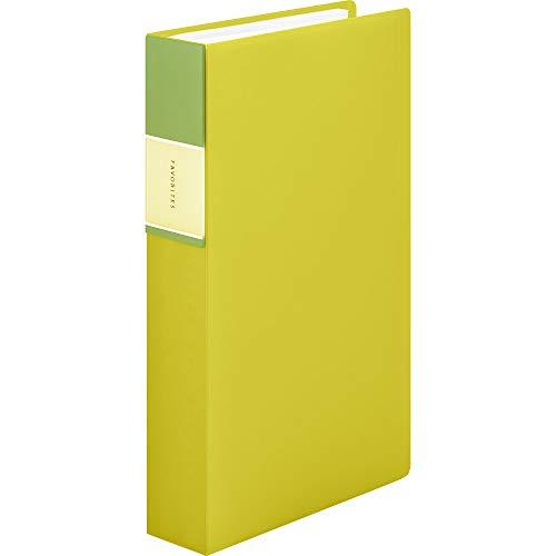 キングジム 名刺ファイル フェイバリッツ 240P 黄色 FV22TWキイ FV22TWキイ