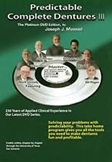 Amazon com: Joseph J  Massad Predictable Complete Dentures 3
