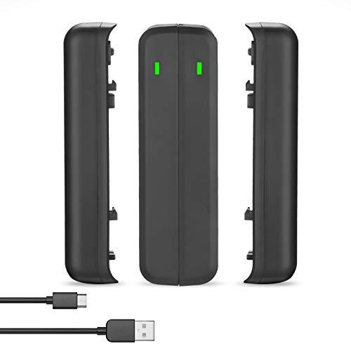 Powerextra USB Dual Ladegerät und 2 Stück Ersatzakkku kompatibel mit Insta360 ONE R