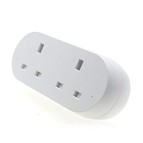 yjll Smart Power Strip met 2 AC Smart Power Strips werkt met Alexa Google Assistant en IFTTT Remote Control Voice Control