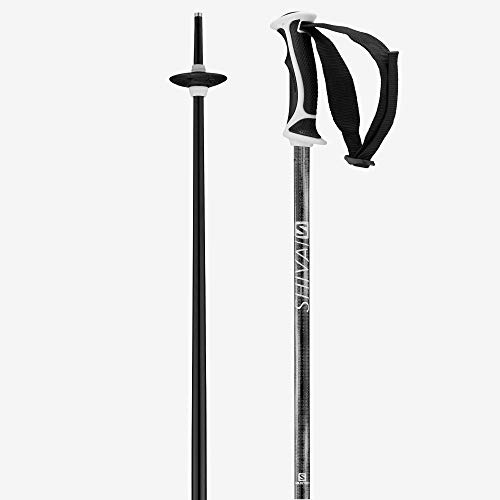 Salomon Damen Skistöcke, 115 cm, Aluminium, Shiva, schwarz, L40560700