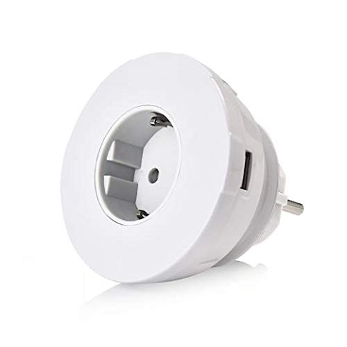 agent C Geniale USB Steckdose (Weiss). 3X USB / 1x USB-C/Netzstecker. Ladegerät und Steckdosen-Adapter. Lade Deine Geräte gleichzeitig