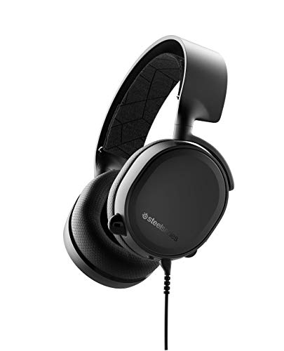 SteelSeries Arctis 3 Console Stereo Wired Gaming Headset for PlayStation 4, Xbox 1, Nintendo Switch, VR, Android and iOS - Black (Renewed)