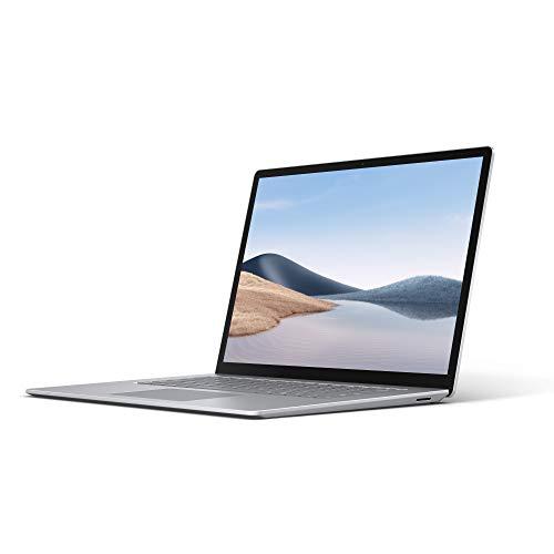 Microsoft Surface Laptop 4 - Ordenador portátil de 15' táctil (Ryzen™ 7 4980U, 8GB RAM, 256GB SSD, AMD Radeon™ RX Vega 11 Graphics, Windows 10 Home) Plata - Teclado QWERTY Español