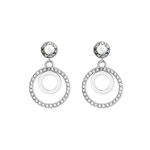 s.Oliver Hänger für Damen mit Swarovski® Kristallen aus Edelstahl