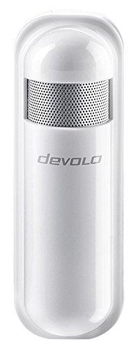 devolo Home Control Luftfeuchtemelder (Funk Hygrometer, Z-Wave Haussteuerung, intelligente Hausautomation per iOS/Android App, Smart Home Sensor) weiß