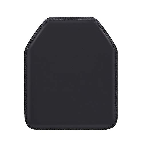 SHIJIU SHIMENG Buffer Plate. Real. 3 A Level. 10x12 inches. Used in Vests and Backpacks. Black (B)