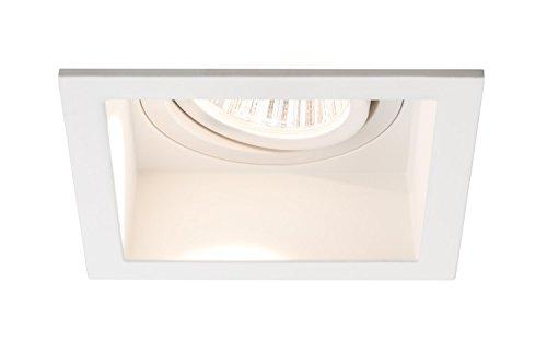 Paulmann 92675 prem sLV/encastrable carré à lED-siège de daz/2 w x 9,5/18 vA 230 v 350 mA 153 mm blanc/alu