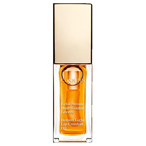 Clarins Eclat Minute Huile Confort Lèvres 01-Honey 7 Ml - 7 ml.