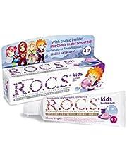 R.O.C.S. Kıds 4-7 Yaş Florürsüz Diş Macunu Balon Sakızı Tadında 1 Paket