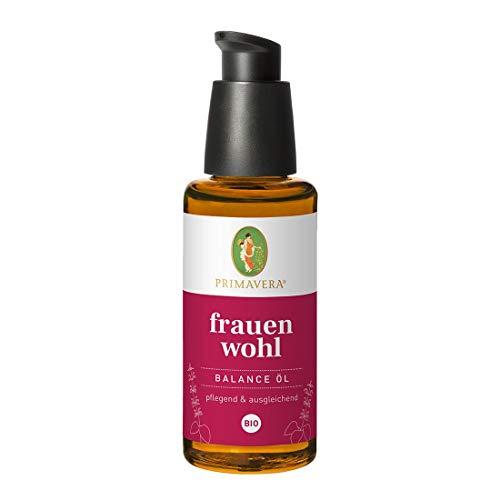 PRIMAVERA Frauenwohl Balance Öl bio 50 ml - pflegendes Körperöl - Aromatherapie - entspannend, ausgleichend, für Frauen in den Wechseljahren - vegan