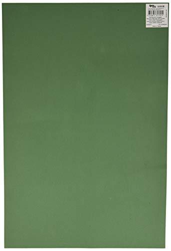 GLOREX caoutchouc en mousse 2 mm, vert mousse, 40 x 30 x 0,2 cm