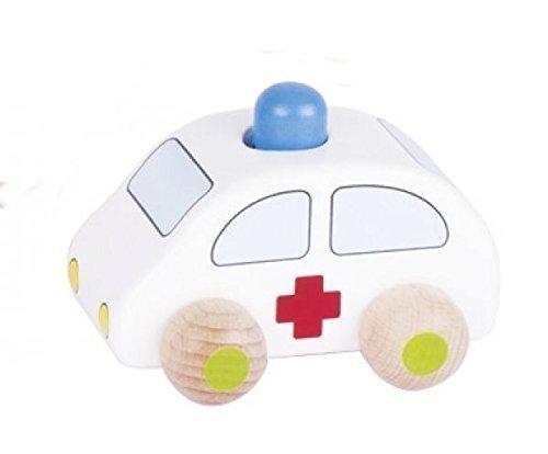 Goki Greifauto Krankenwagen mit Hupe