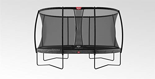 BERG Trampoline Champion oval 520 with Safety Enclosure Net Deluxe XL | Premium Trampoline, Kids trampoline, Longer Lifetime Warrenty, Jump higher with TwinSpring and Airflow