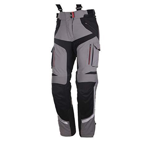 Modeka Panamericana Damen Motorrad Textilhose Grau/Schwarz 36