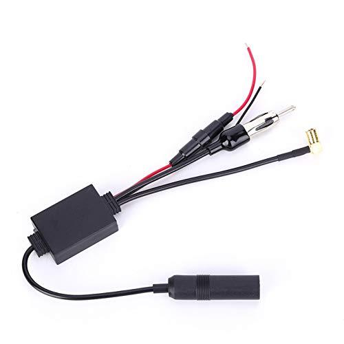 Amplificador de señal duradero Adaptador de radio digital Antena de coche FM Adecuado para Europa