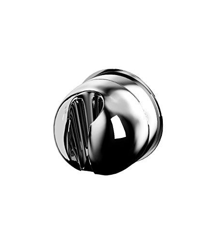 RIDDER 12080100 Tête de Douche Chrome Support à Ventouse, Plastique, 7,2 x 6 x 7,3 cm