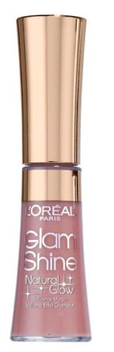 L'Oréal Paris Glam Shine Natural Glow, Lippenstift, 400 Juicy Rose Glow