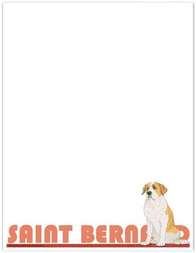 Animal Theme Gifts Saint Opening large Animer and price revision release sale Stationery Bernard Set Large