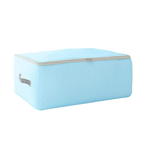 Moisture Resistant Oxford Fabric Storage Bag for Clothes, Luggage Clothes, Packing Bag, Blue _XL