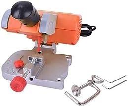 TOPCHANCES Mini banco de corte de sierra de corte hoja de acero de metal madera plástico ajuste medidor de ingletadora para trabajo DIY