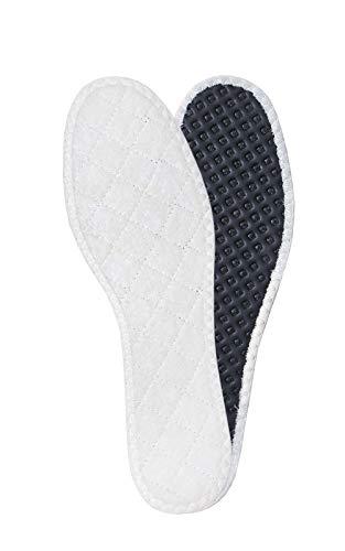 Kaps WINTERSOHLEN AUS 100% SCHURWOLLE mit isolierender Aluminiumschicht und Aktivkohle für Schuhe, Einlegesohlen für Damen und Herren, Schuheinlagen für den Winter (44 EUR / 10 UK)