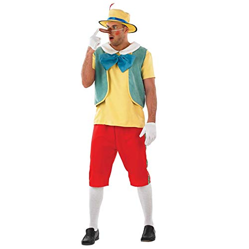Fun Shack Rojo Marioneta De Madera Disfraz para Hombres