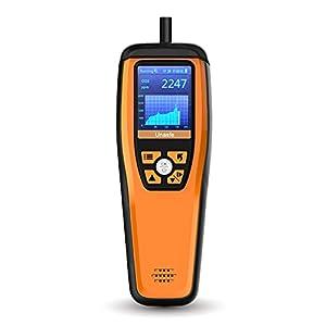 Temtop M2000C/M2000 Monitor di qualità dell'aria per PM2.5 PM10 particelle HCHO(M2000) Temperatura CO2 Umidità configurabile Allarme audio Registrazione Curva Facile Calibrazione