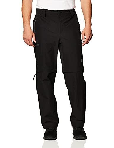 The North Face Exploration CNVRT, Pantalones Convertibles, Hombre, Negro (TNF Black), 34 (REG)