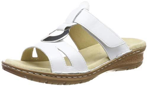 ARA Damen Hawaii 1227292 Pantoletten, Weiß (Weiss 77), 41 EU