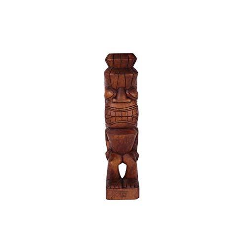 KOH DECO Tiki polynésien Laka en Bois 50 cm