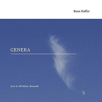 Genera - Live at AB Salon, Brussels