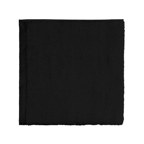 Essix - Drap de Bain Aqua Coton Noir 90 x 170 cm