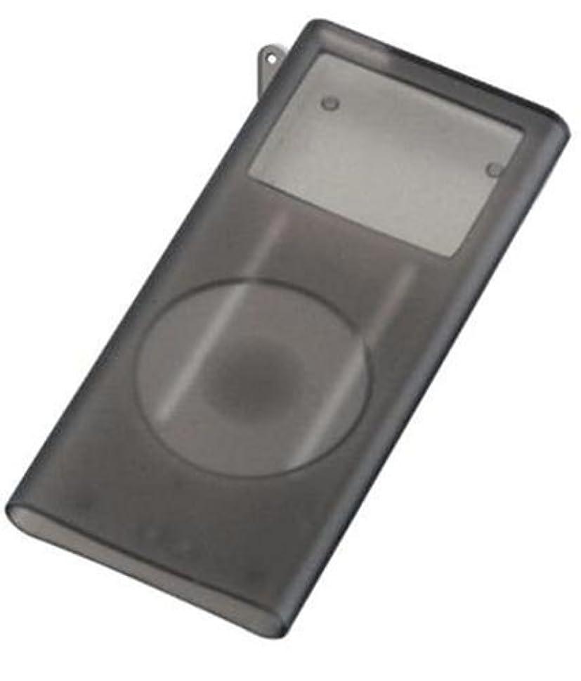 貫通する牽引またGREEN HOUSE 第2世代iPod nano専用シリコンケース ブラック