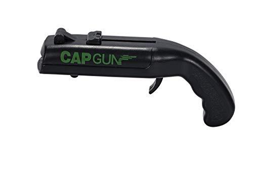 ほうねん堂 栓抜き CAPGUN キャップガン ピストル型 ボトルオープナー 的当て おもちゃ ブラック