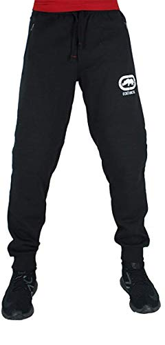 Ecko Herren Designer Baumwolle Jogginghose,Schwarz,Blau,Grau - Blau, XL
