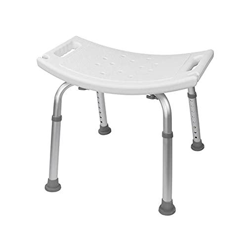 FVDSM Verstellbarer Älterer Bad Duschstuhl Kinder Duschstuhl Duschstuhl Sitzbank Hocker Sitz Rutschfester Badestuhl Badewannenstühle für Senioren