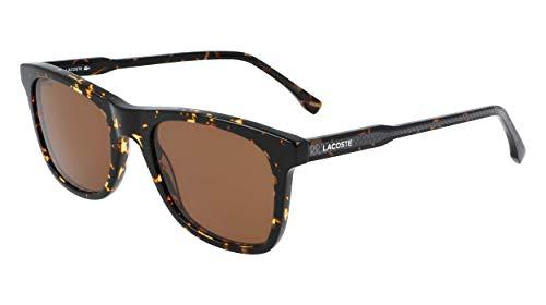 LACOSTE EYEWEAR L933S-220 Gafas, Dark Havana, 53/20/145 para Hombre