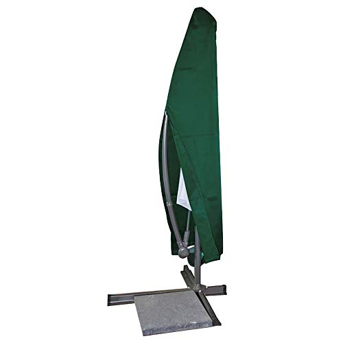 E-starain Afdekhoes, beschermhoes, waterdicht, stofdicht, voor tuinmeubelen, PE-zeil voor tuintafel en zitgroep, groen 265 * 40/100/70cm(H*W) groen
