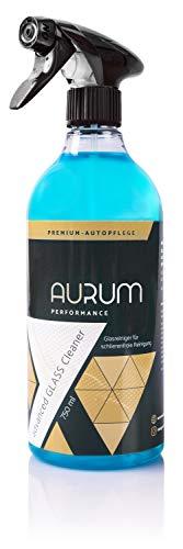 Aurum-Performance® Glasreiniger Auto - Scheibenreiniger für eine klare und schlierenfreie Sicht – reinigt materialschonend und streifenfrei (Advanced Glass Cleaner, 750ml)