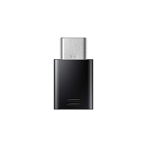 Samsung GH98-41290A USB-Adapter Typ C auf Micro-USB, Typ C Mobilgeräte (Keine Einzelhandelsverpackung) Schwarz