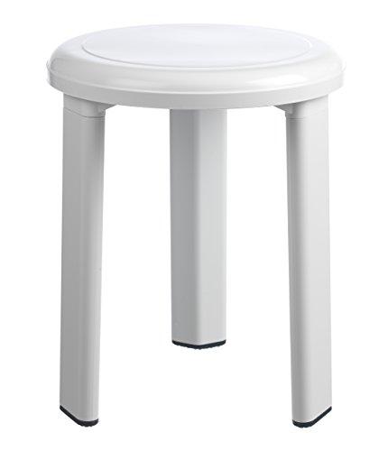 toyma 0535/10-Taburete de bano, Color, Blanco