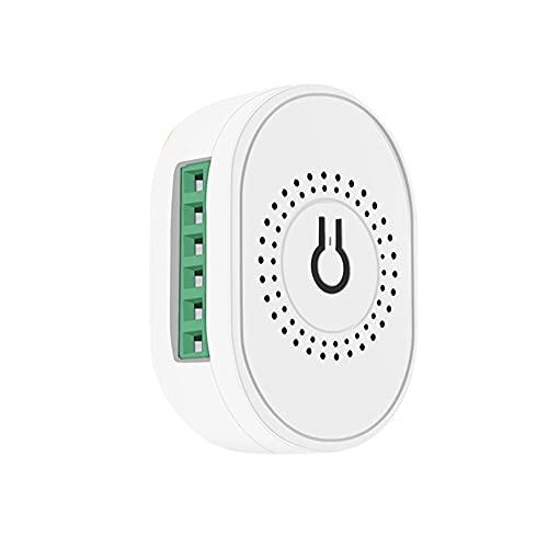KKmoon Módulo de Interruptor de luz Inteligente Mini Automatización del hogar Interruptor de Bricolaje Control de Tiempo Control de Voz Interruptor Inteligente
