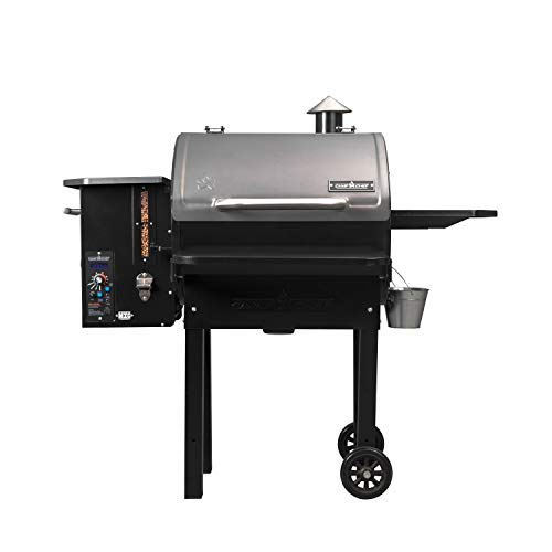 Camp Chef PG24MZG SmokePro Slide Smoker with Fold Down Front Shelf Wood Pellet...