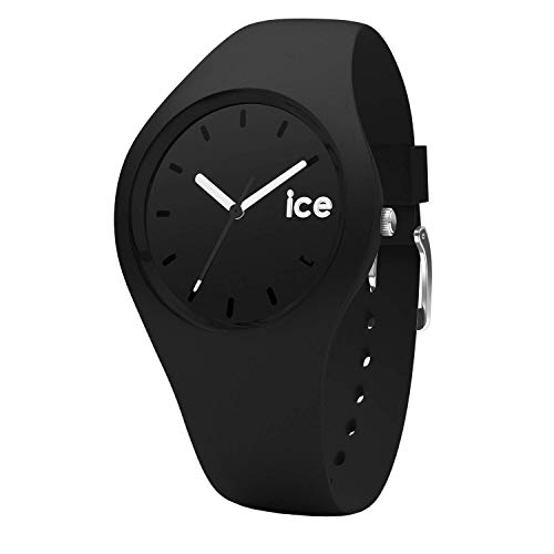 Ice-Watch - ICE ola Black - Men's (Unisex) wristwatch with silicon strap - 001226 (Medium)