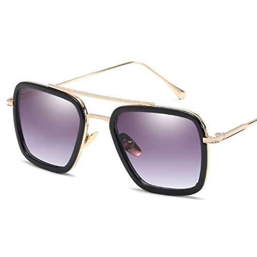 Gafas De Sol De Lujo Retro para Hombre Gafas De Sol De Diseñador Gafas De Sol De Marca Clásicas Cuadradas con Estilo