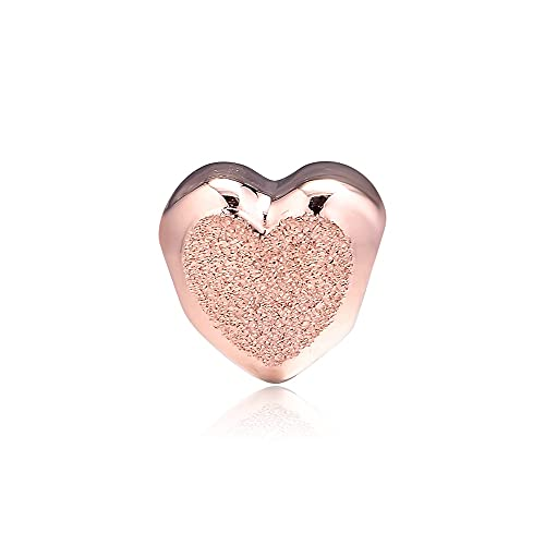 Pandora 925 Plata Genuina Mate Brillante Corazón Encanto Pulsera Cuentas Para Mujeres Joyería Que Hace Kralen Berleoques Regalo Exquisito